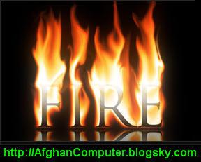 ساخت آتش (افغان کامپیوتر)
